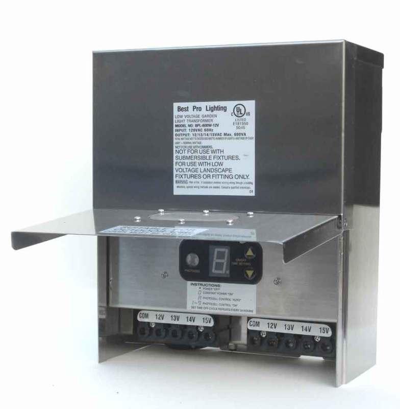 600 Watt Stainless Steel Transformer